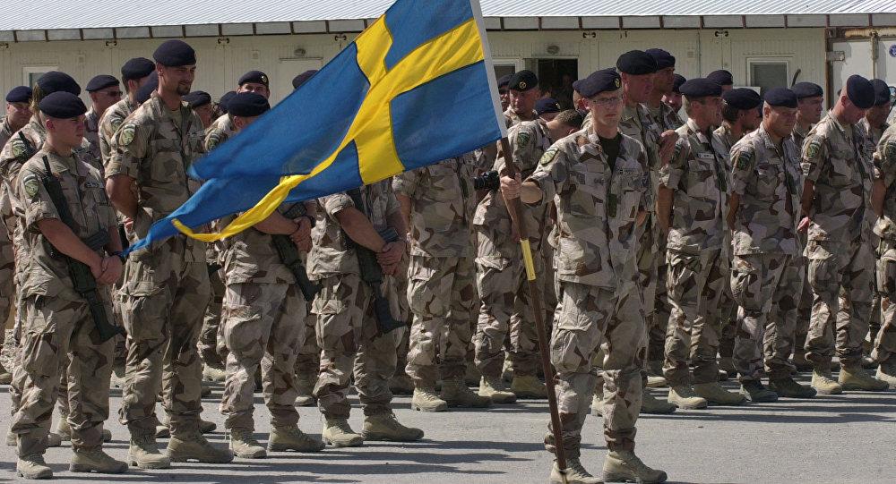 Militares suecos (archivo)