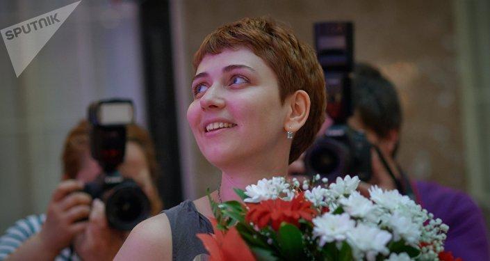 Anna Starobinets, escritora rusa