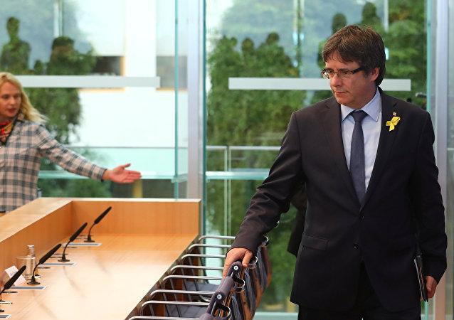 Carles Puigdemon, expresidente catalán