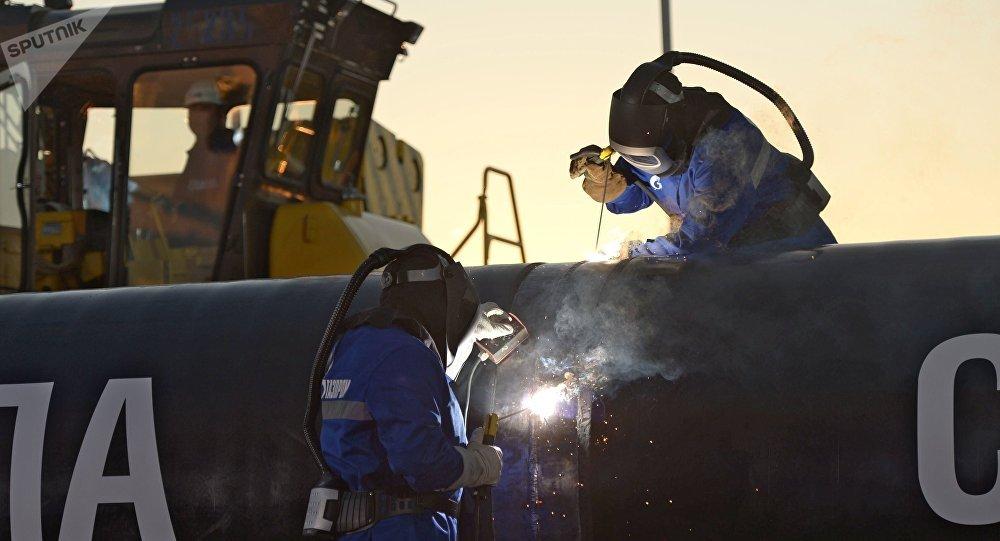 """La construcción del gasoducto """"La Fuerza de Siberia"""""""