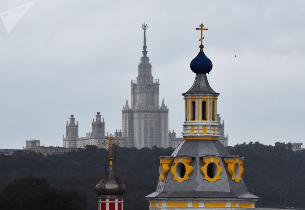 Tradición y modernidad: así es Moscú a vista de pájaro