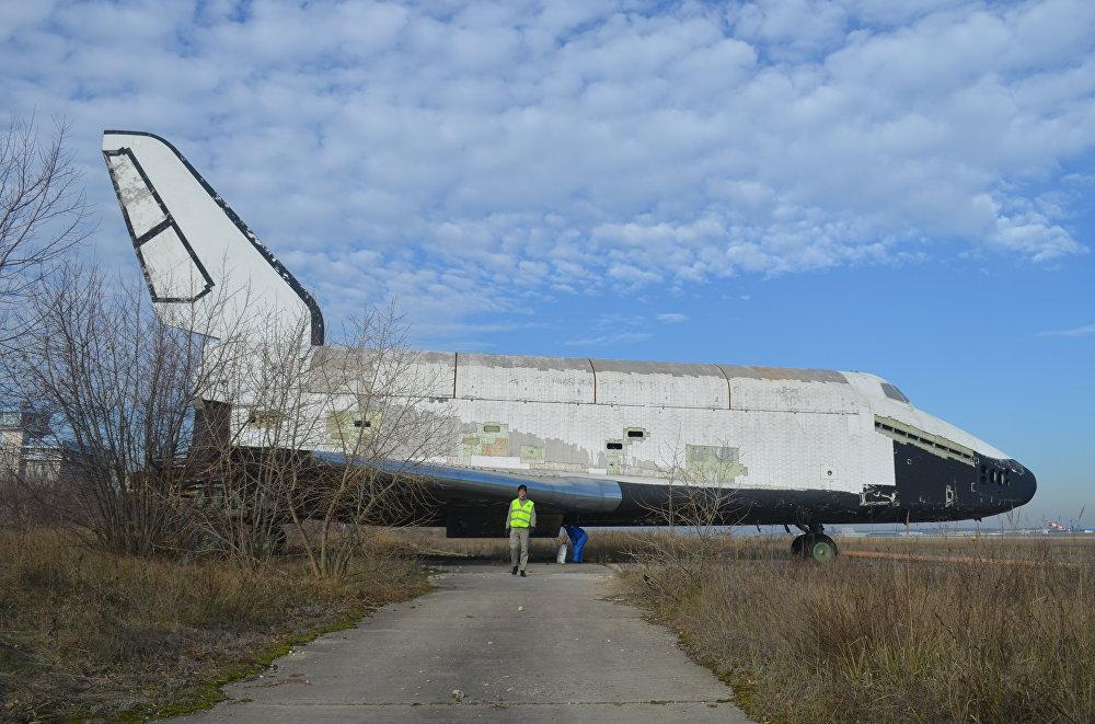 La nave espacial soviética Buran también podría ser una de las piezas centrales del museo