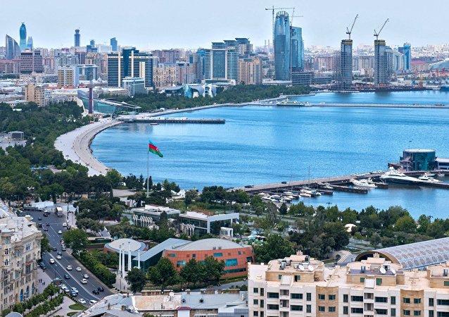Bakú, la capital de Azerbaiyán