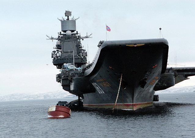 Portaviones Almirante Kuznetsov