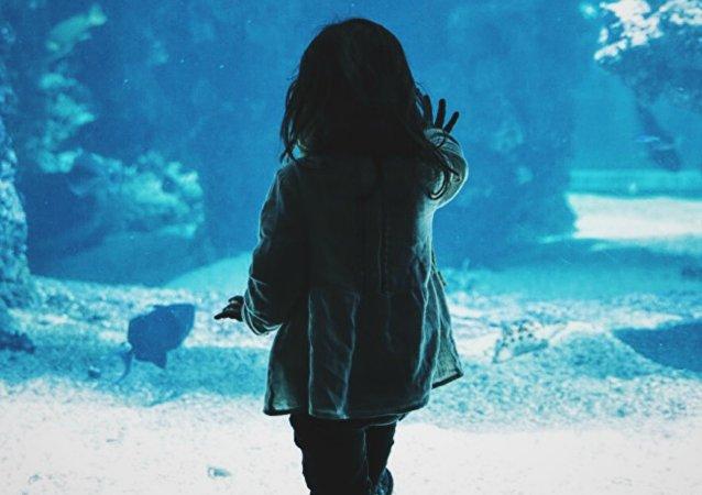 Una niña, imagen referencial