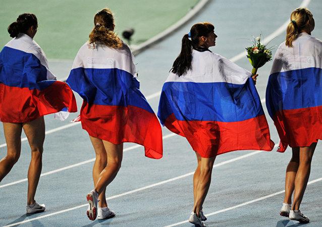 Atletas rusas (archivo)
