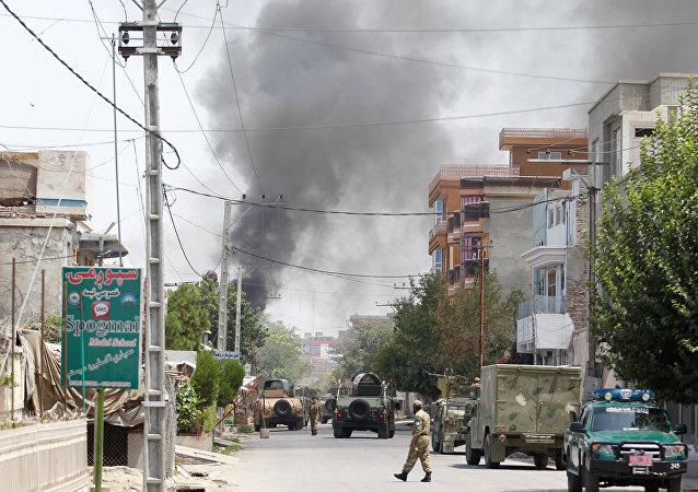 Ataque en Jalalabad, Afganistán (archivo)