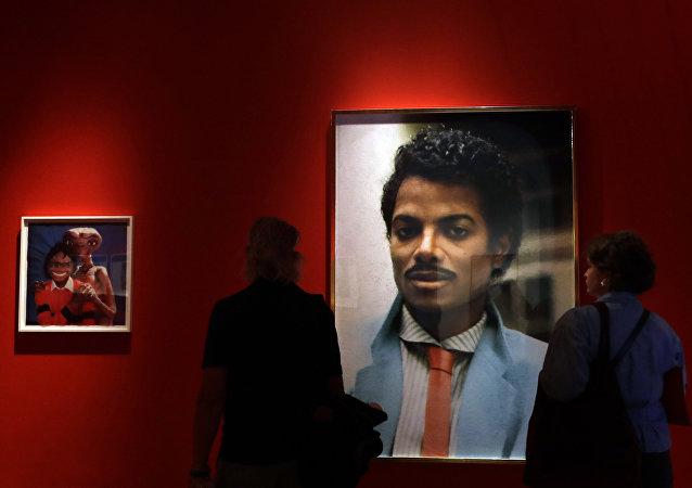 Un retrato de Michael Jackson