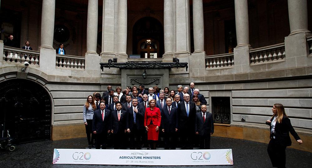 Ministros de Agricultura del G20