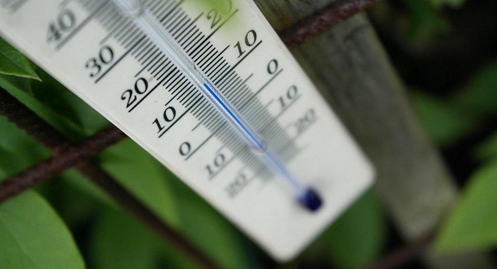 Un termometro (imagen referencial)