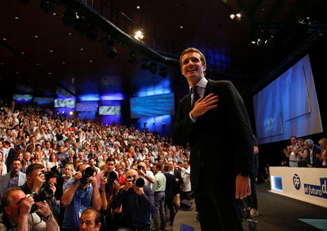 Pablo Casado, nuevo presidente del PP (archivo)