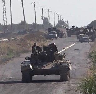 El Ejército sirio  no escatima esfuerzos para expulsar a los terroristas de Estado Islámico