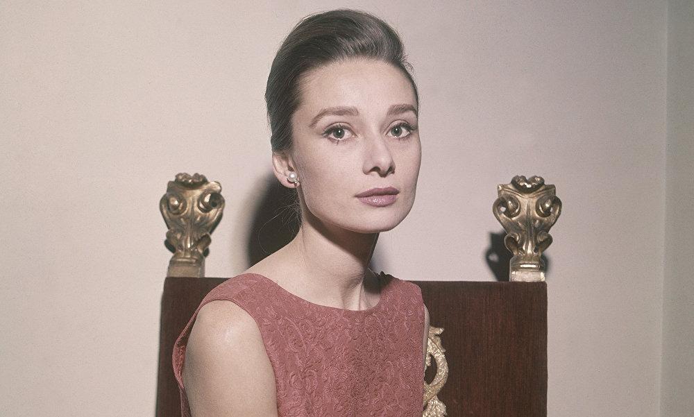 La actriz Audrey Hepburn