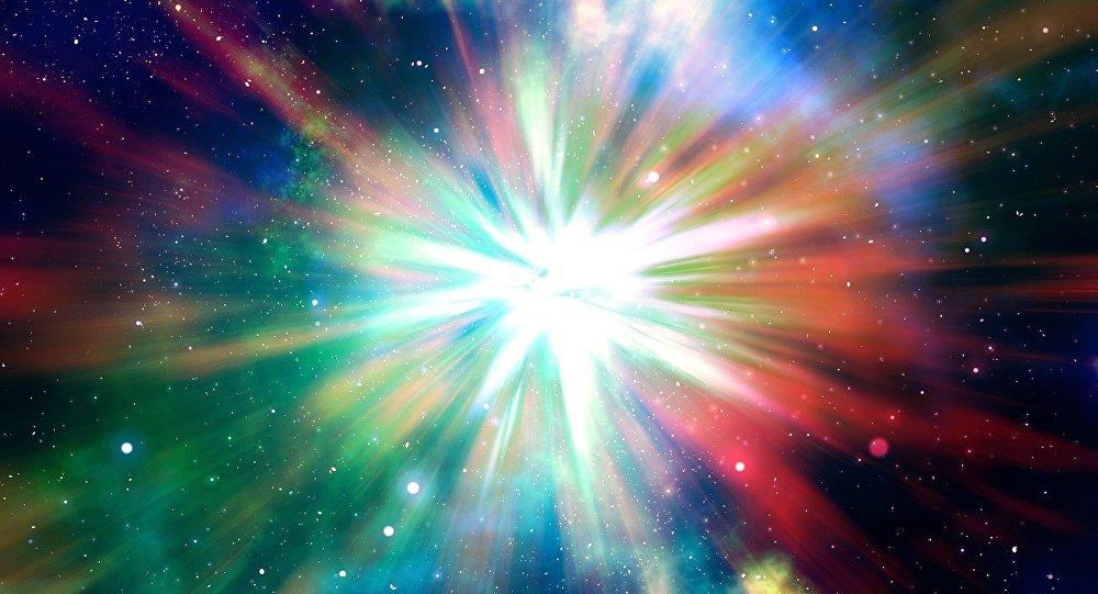Una explosión en el espacio (imagen ilustrativa)
