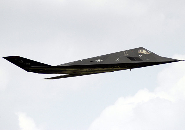 Bombardero furtivo F-117, foto referencial
