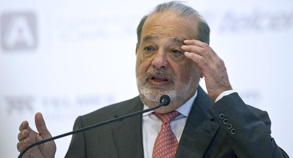 Multimillonario mexicano Carlos Slim (archivo)