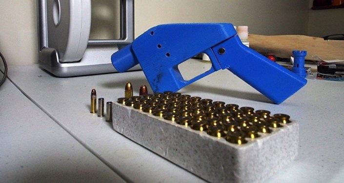 Liberator, pistola hecha con impresora 3D