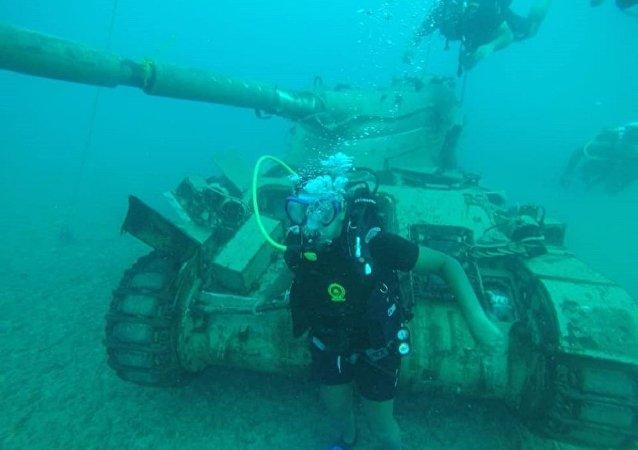 Un parque subacuático en el Líbano