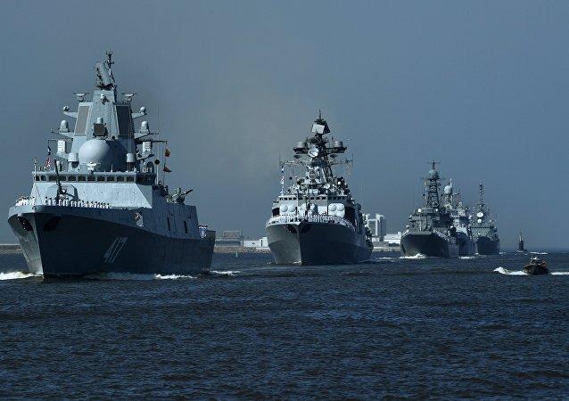 La fragata Almirante Gorshkov (archivo)