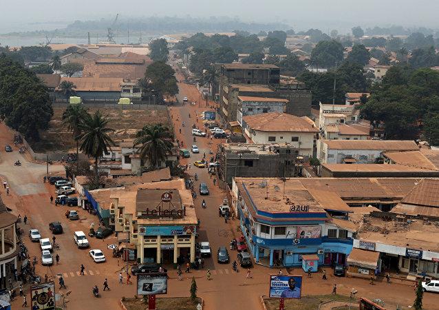 Bangui, la capital de la República Centroafricana (archivo)