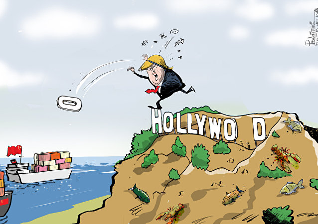 'Hollywood', el arma arrojadiza de Trump contra China