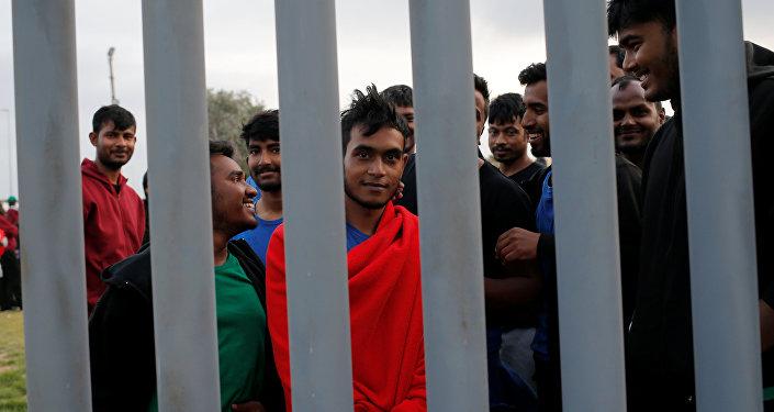 Migrantes de Bangladés en España