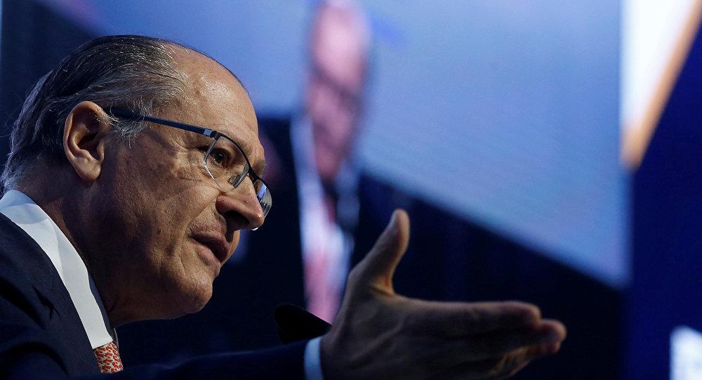 Geraldo Alckmin, candidatura del Partido de la Social Democracia Brasileña para las elecciones presidenciales