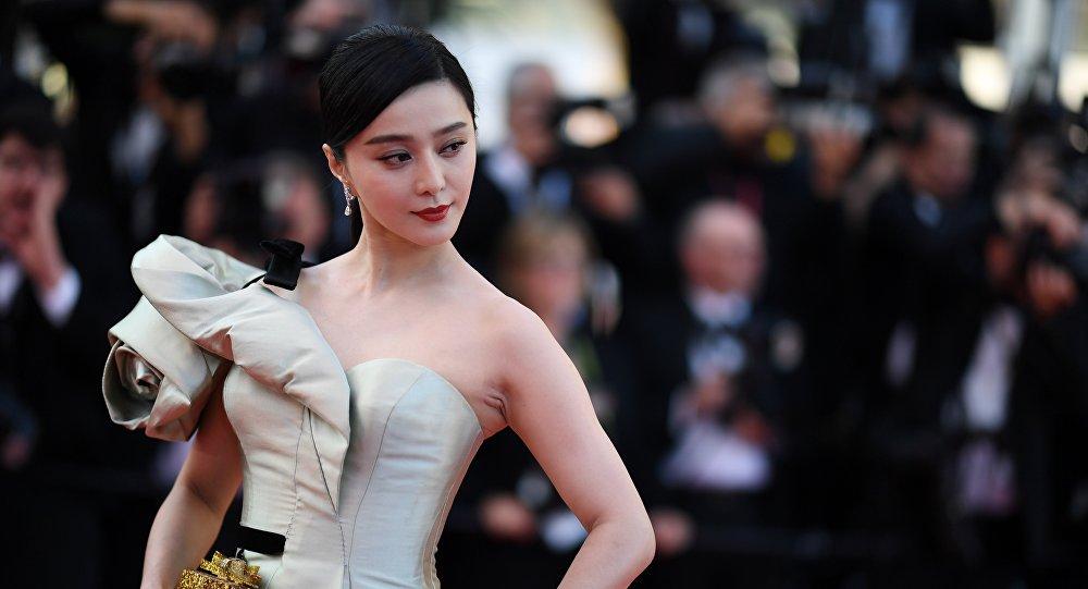 La actriz china Fan Bingbing