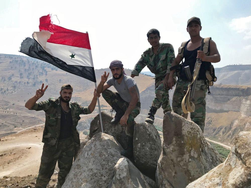 El Ejército sirio expulsa a los terroristas de la provincia de Deraa