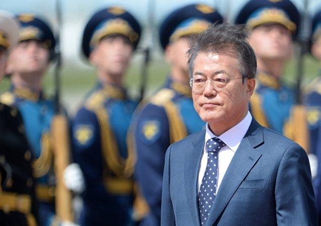 Moon Jae-In, presidente de Corea del Sur