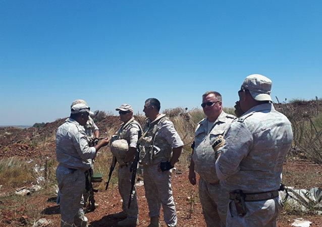 Policía militar rusa en Siria