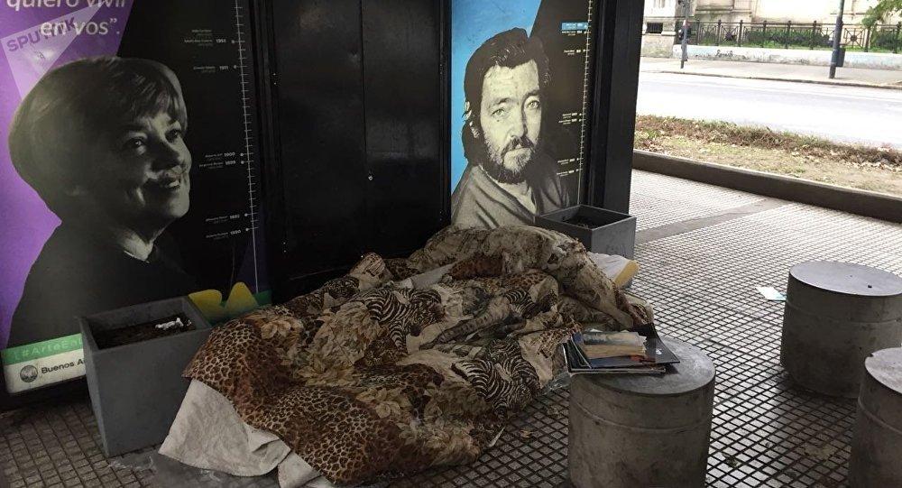 Personas en situación de calle, Buenos Aires, Argentina