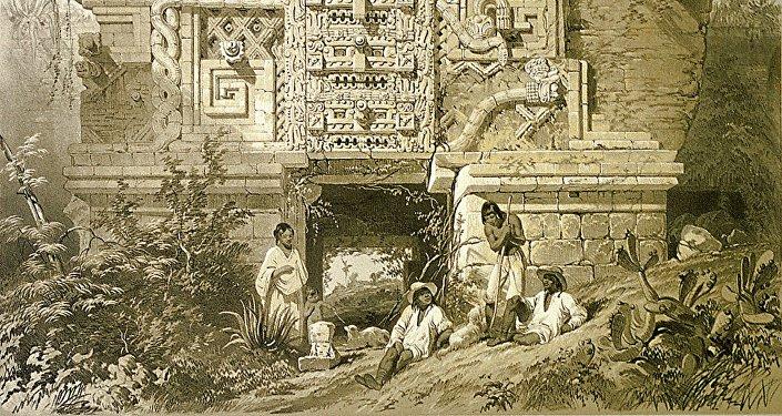 Un monumento de la cultura maya, imagen ilustrativa