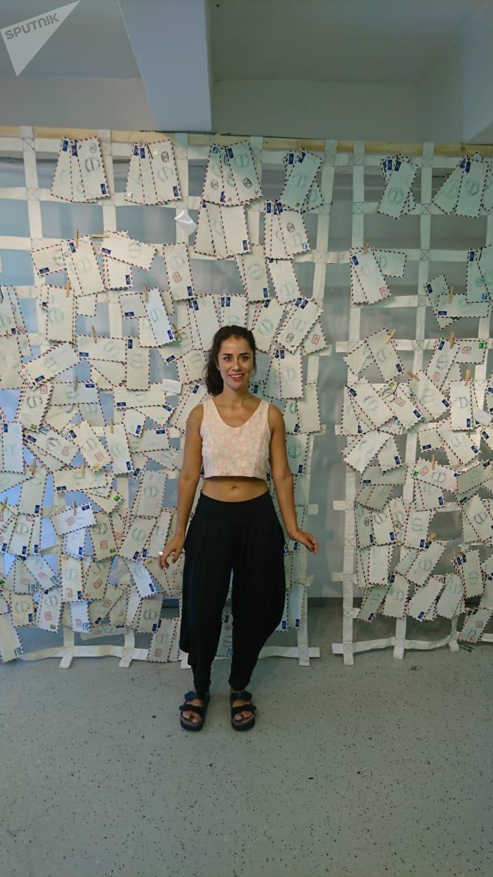 María Luisa Portuondo, artista visual chilena