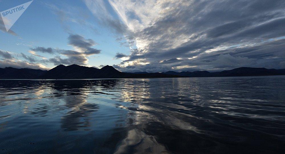 El mar de Bering, Chukotka