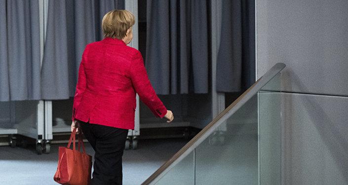 Angela Merkel, canciller alemana (archivo)