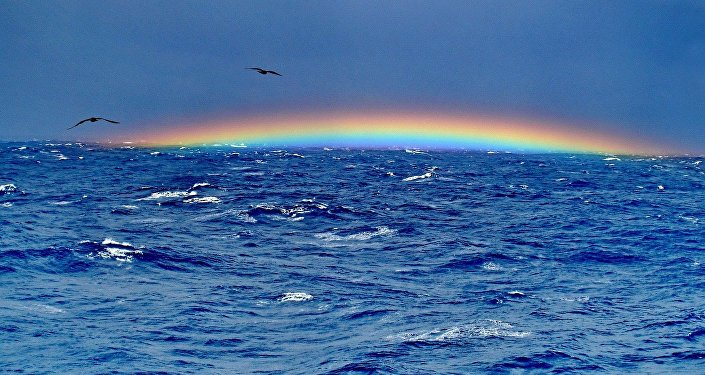 El Triángulo de las Bermudas (imagen referencial)
