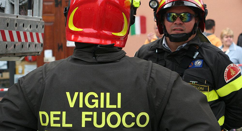 Bomberos italianos (imagen referencial)