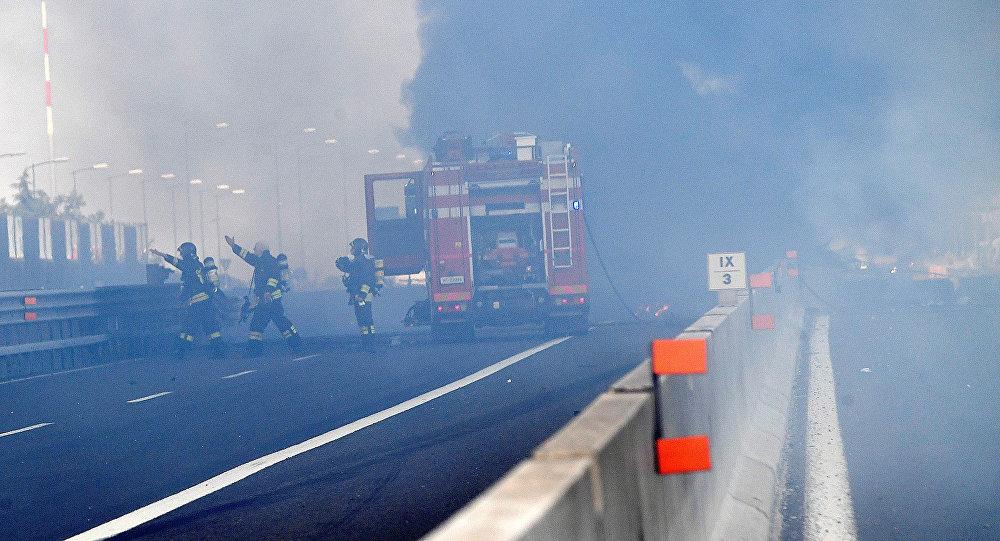Se registra una fuerte explosión cerca del aeropuerto de Bolonia — Italia