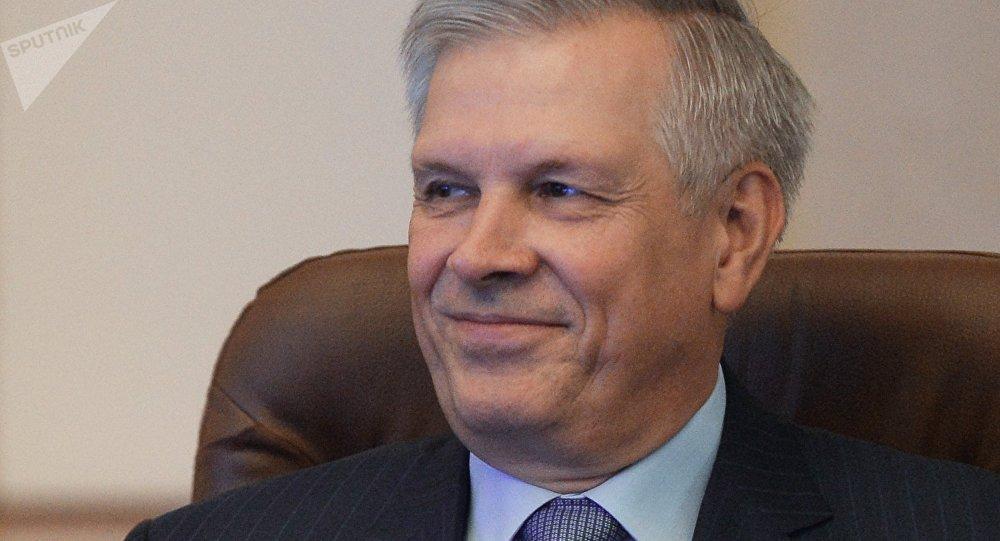 Sergey Dankvert, jefe del Servicio Federal de Control Veterinario y Fitosanitario de Rusia (Rosselkhoznadzor)