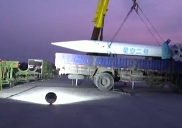 Publican un nuevo vídeo del misil hipersónico chino