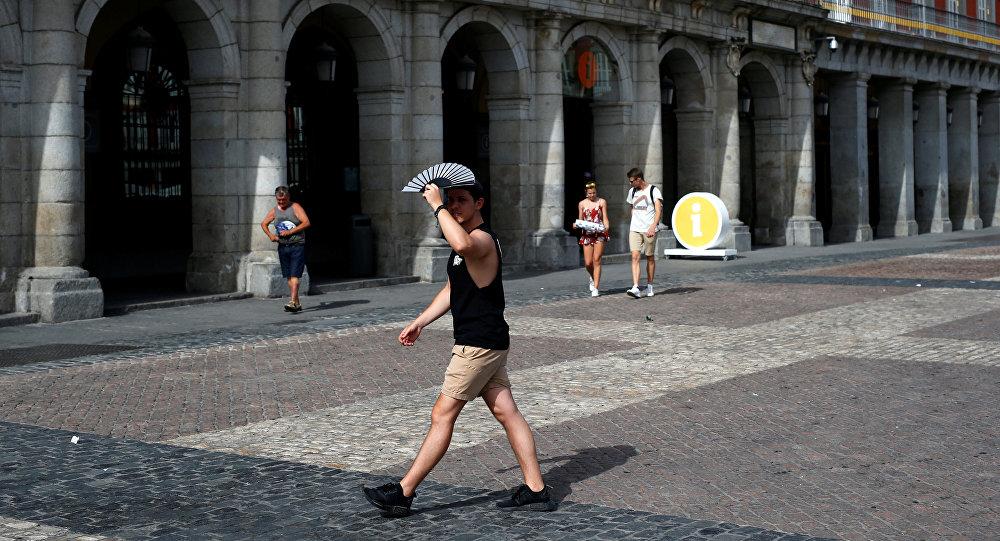 Ola de calor en España (imagen referencial)