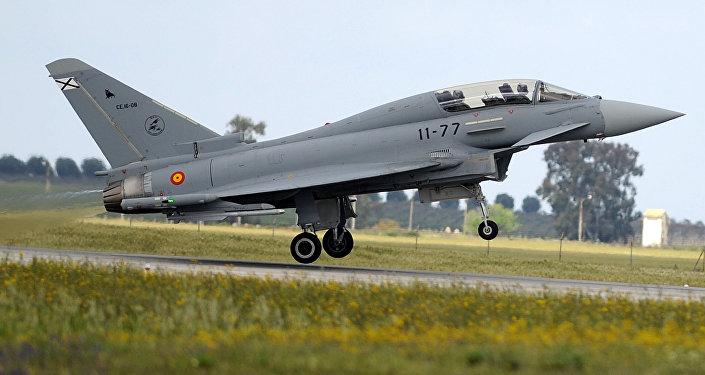 Caza Eurofighter español