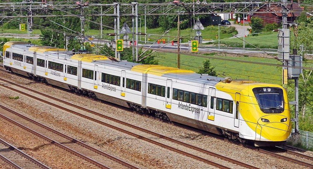 Tren en Suecia