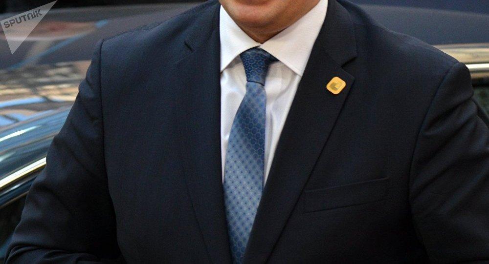 Juri Ratas, primer ministro de Estonia