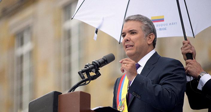 Iván Duque presidente de Colombia