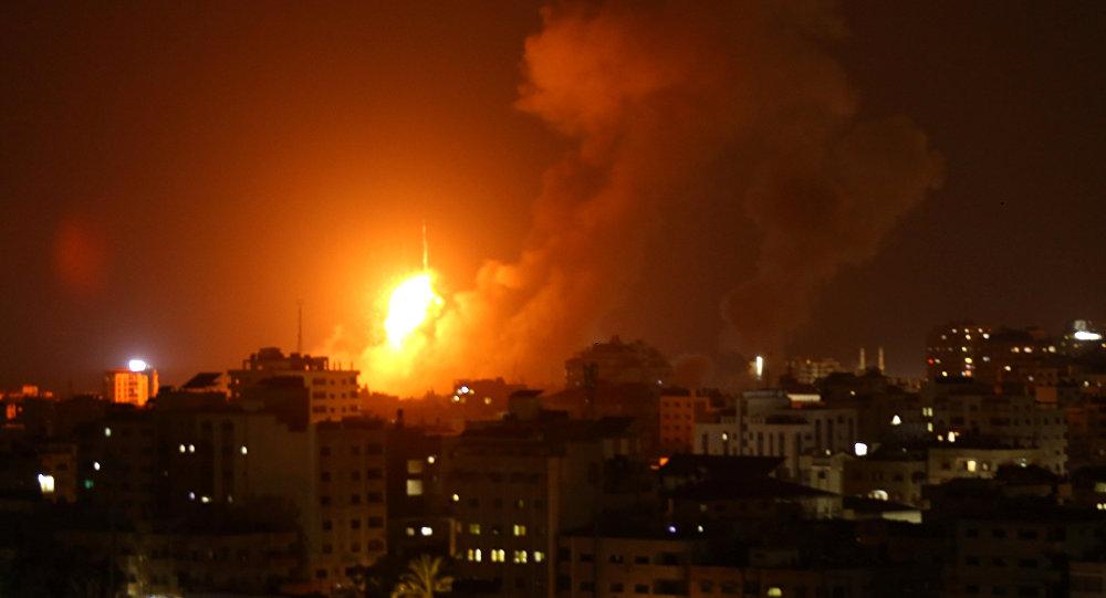 Ataque de Israel sobre la Franja de Gaza