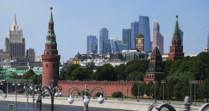 El Kremlin y el Centro Internacional de Negocios de Moscú