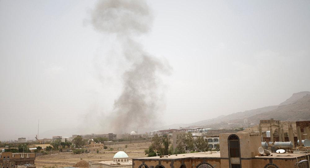 Un misil destruye micro escolar en Arabia Saudita
