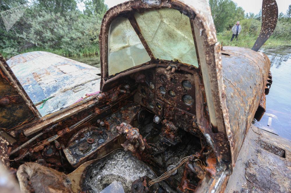El rescate del legendario tanque volador Il-2, que pasó 75 años en el fondo de un lago